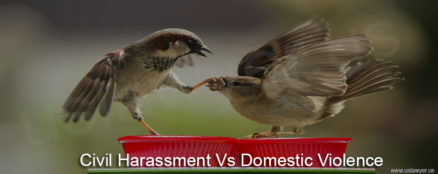 Civil Harassment Vs Domestic Violence