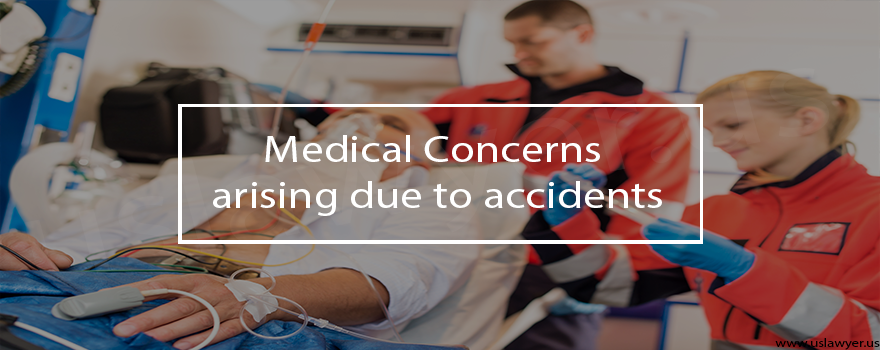 Medical Concerns arising due to accident