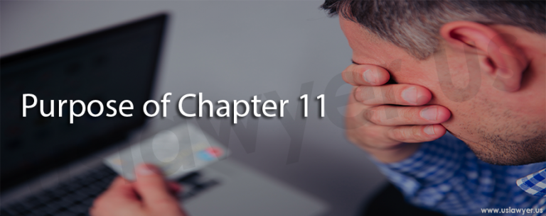 purpose of chapter 11