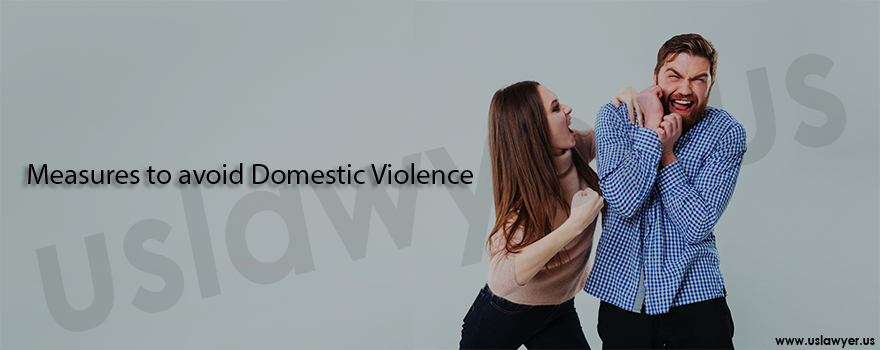 Measures to avoid domestic violence