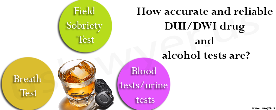 How accurate and reliable DUI/DWI drug and alcohol tests are