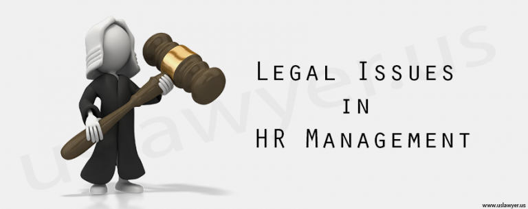 Legal Issues in HR Management