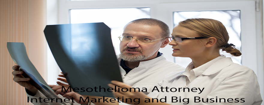 Mesothelioma Attorney: Internet Marketing and Big Business